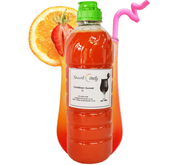 CARIBBEAN SUNSET DAIQUIRI Syrup MIX FOR SALE | #1 BEST SEX ON THE BEACH SYRUP Daiquiri Cocktail Mix