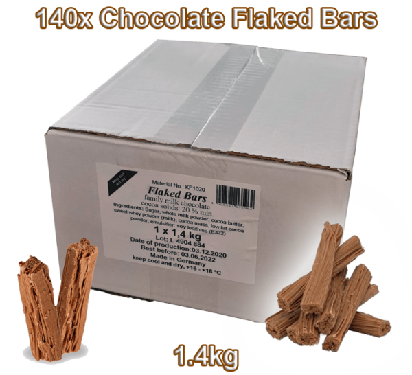 Chocolate Flake For Sale | Chocolate Flakes & Flaked Bars For Sale