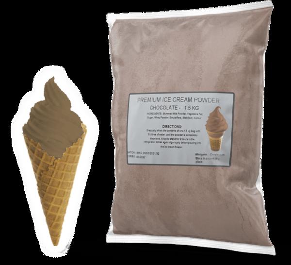 Chocolate Premium Soft Serve Powder Mix For Sale