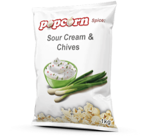 SOUR CREAM & CHIVES SPICE | #1 Best Popcorn Spice Sour Cream And Chives Salt