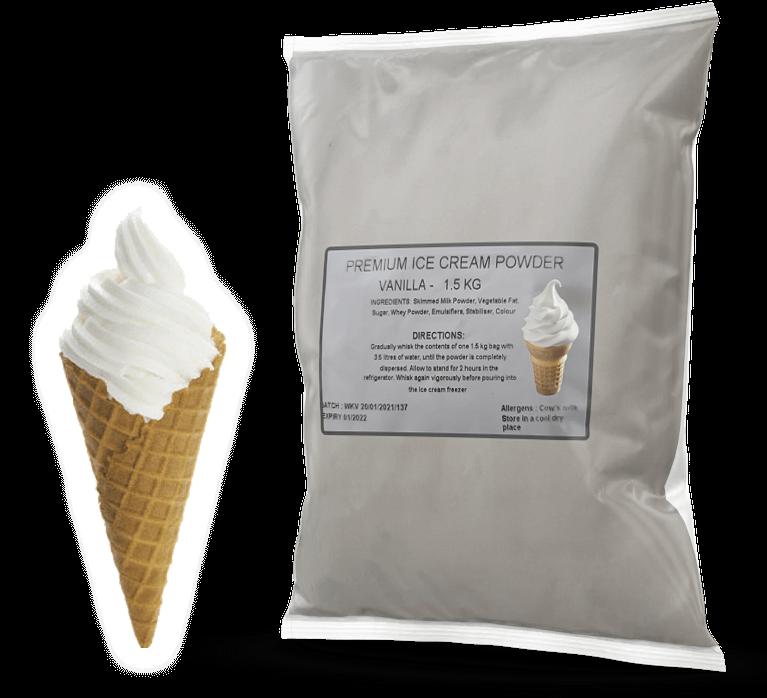 Vanilla Premium Soft Serve Powder Mix For Sale