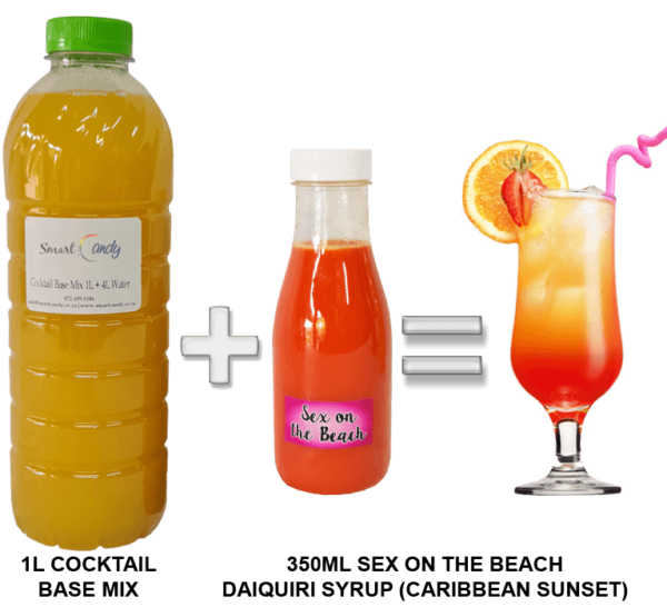 CARIBBEAN SUNSET DAIQUIRI COCKTAIL MIX FOR SALE | #1 BEST Cocktail Mix Supplier South Africa!!