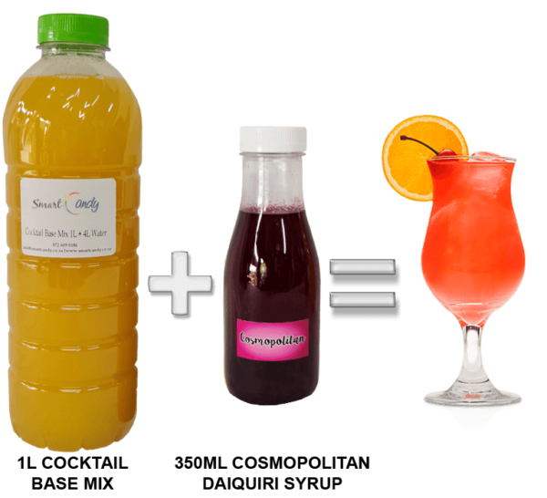 COSMOPOLITAN DAIQUIRI COCKTAIL MIX FOR SALE   #1 BEST Cocktail Mix Supplier South Africa!!