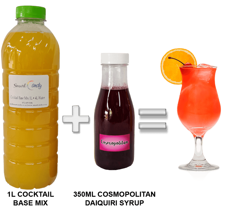 COSMOPOLITAN DAIQUIRI COCKTAIL MIX FOR SALE | #1 BEST Cocktail Mix Supplier South Africa!!