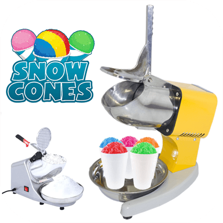 Snow Cone Machine | Ice Crusher For Sale