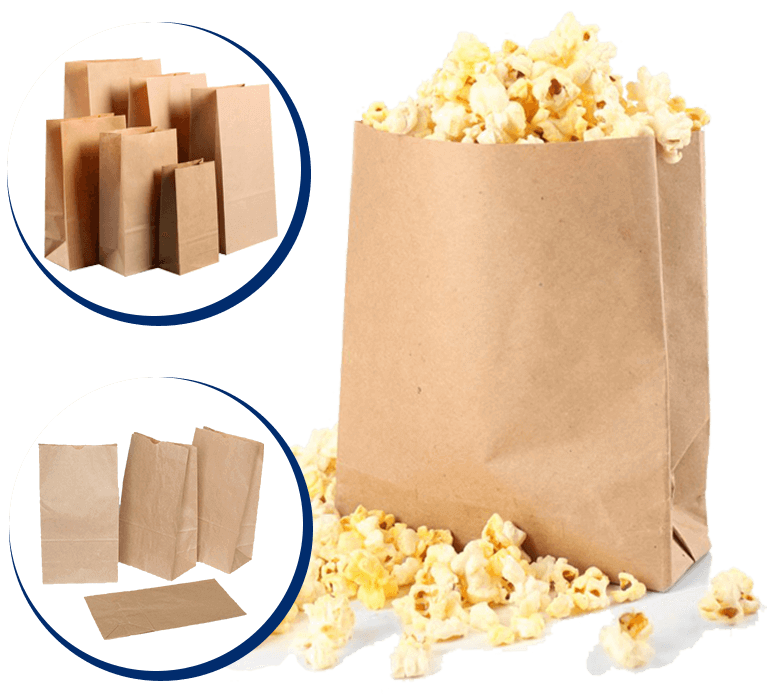 POPCORN BAGS For Sale South Africa | #1 Best Popcorn Brown Bags