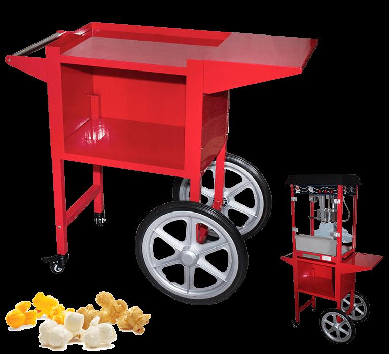 Popcorn Machine Cart For Sale | #1 BEST ChromeCater Popcorn Trolley Supplier Near Me